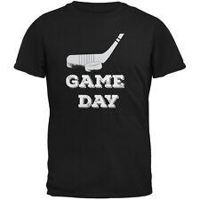 Game Day Hockey Black Youth T-Shirt