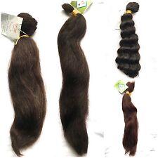100% cabello humano francés a granel - 16, 18, 20 pulgadas