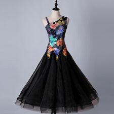 Ballroom Dance Dress Tango Modern Waltz Standard Competition Flower Dress 1803