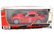 MotorMax  Mercedes Benz SLS AMG GT3 Red 1/24 Diecast Car