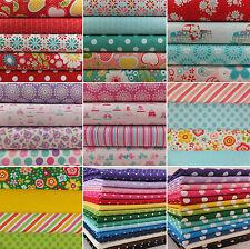 Fat Quarter Bundles 100% cotton fabric remnants patchwork quilting