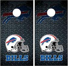 Buffalo Bills Diamond Plate Cornhole Board Decal Wrap Wraps