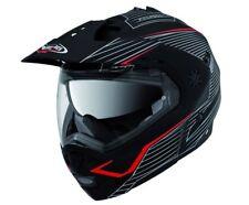 CABERG TOURMAX SONIC MATT/BLACK/RED FLIP FRONT MOTORCYCLE HELMET
