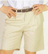 John Deere Adults Mens Sand Beige Bermudas Shorts - available in S XL XXL
