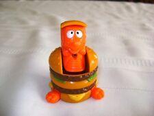 1990 McDino Big Mac Changeables Transformer McDonalds Kids Happy Meal Toy Food