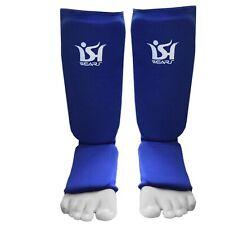 MMA Shin Instep Guards Kick Boxing Leg Foot Protector Karate Taekwondo Muay Thai