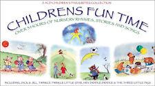 Childrens Fun Time 4 CD Nursery Rhymes Stories Songs