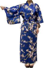 Women's Casual Cotton Yukata Robe Sakura Butterfly #978 Geisha Gown Unlined