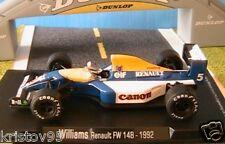 WILLIAMS RENAULT FW 14B 1992 1/43 FORMULE 1 MINIATURE