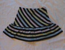 Gymboree PETITE MADEMOISELLE Striped Knit Skirt Skort NWT 7 8