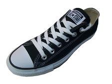 Converse Allstars Black Ox lo Lona ladies/mens Unisex tamaño del Reino Unido 3,4,5,6,7,8,9