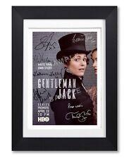 GENTLEMAN JACK CAST SIGNED POSTER TV SHOW SEASON HBO PRINT PHOTO AUTOGRAPH GIFT