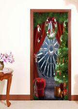 3D Christmas Tree 483 Door Wall Mural Photo Wall Sticker Decal AJ WALLPAPER CA