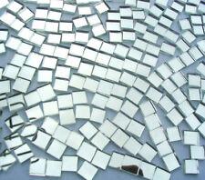 50  Mosaic MIRROR Tiles 1cm x 1cm Great Highlights Crafts