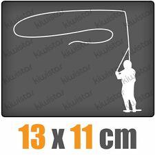 Fliegenfischen csf0476 13 11 cm JDM  Sticker Aufkleber