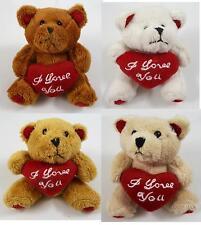 Kleiner Teddybär Plüschbär Stofftier Plüsch Bär Teddy Kuscheltier Plüschbär Herz