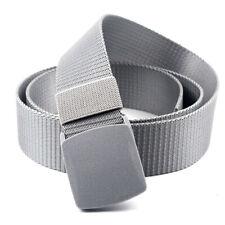 Waist Belt Waistband Plastic Buckle Solid Color Mens Elastic Wearable Trainings