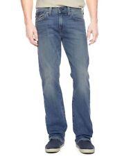 True Religion Jeans Men's Billy w/flap Bootcut White Pine M0K858NKU3