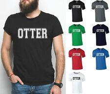OTTER T-Shirt - Funny Men's Slogan Tee Gay Pride Bearded Hairy