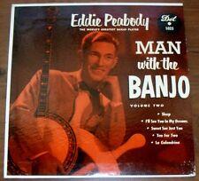 Eddie Peabody Man With The Banjo 1955 DOT1025  EP/PS NM