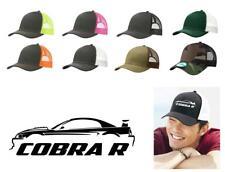 2000 Ford Mustang SVT Cobra R Color Outline Design Trucker Hat Cap
