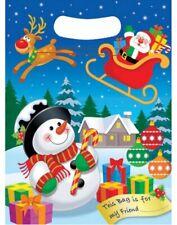 Navidad Dibujos Animados Fiesta Cumpleaños Chucherías Bolsas ~ Plástico Celofán