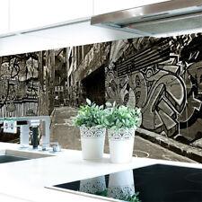 Küchenrückwand Graffiti Premium Hart-PVC 0,4 mm selbstklebend