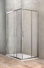 Ponsi box doccia rettangolare con due porte scorrevoli 68 - 70 x 98 - 100 cm