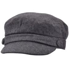 G&H Men's  Grey Wool Breton Sailing Fisherman's Cap