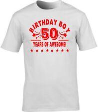 50th Birthday T-shirt cadeau 50 ans de Awesome 40th 21st homme BOY
