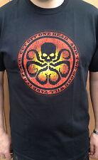 Agents Of Shield / S.H.I.E.L.D. - HYDRA - Black T Shirt - 100% Cotton > S - 5XL