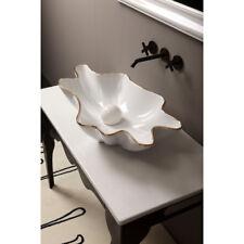 Lavandino Lavabo da appoggio Moderno Serie Shell in ceramica - 5 decori