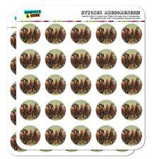 Horses on the Prairie Pecking Order Planner Calendar Scrapbooking Stickers