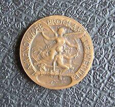 très belle médaille La Renommée Proclame la Merite femme / enfant **L@@K**