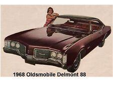 1968 Oldsmobile Delmont 88 Auto Refrigerator / Tool Box Magnet