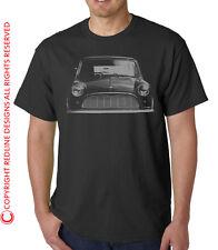 CLASSIC MINI  MORRIS 1960s CAR T-SHIRT   DTG ALL SIZES AVAILABLE R33