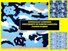 UNIVERSITY OF NORTH CAROLINA FLEECE FABRIC-UNC TARHEELS FLEECE-ALL PATTERNS