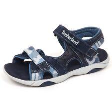 E6296 sandalo bimbo blu TIMBERLAND scarpe shoe baby kid boy