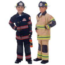 Firefighter Costume Kids Halloween Fancy Dress