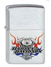 Zippo Harley Davidson Engine Motorblock auf Wunsch mit pers. Gravur HD 1200195
