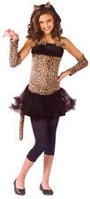 Girls Wild Cat Jungle Dress Halloween Costume