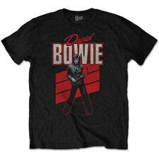 David Bowie Saxophone Pose Aladdin Sane Low Official Tee T-Shirt Mens Unisex