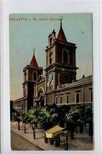 (w16e402-351) St. Johns Church, Valletta, MALTA E20C G-VG