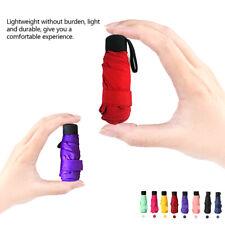 Super Mini Pocket Compact Umbrella Sun Anti UV 5 Falten Regen Windproof Reisen