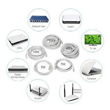 Cavo di rete Ethernet 10m/20m/25m/30m CAT 5E Gigabit RJ45 Cavo Patch LAN Router