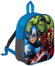 Kids Marvel Avengers Backpack Kids School Rucksack Boys Travel Lunch Book PE Bag