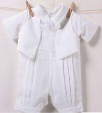 Baby Infant Boys Christening Prop Cute Romper Gentlemen Suits Wedding Outfits