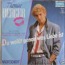 "7"" Cover version rar! thomas Berger Covert Eric Carmen!"