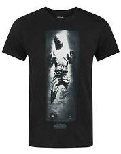Star Wars Han Solo Carbonite Men's Black Cotton T-Shirt Sizes S M L XL XXL
