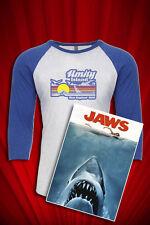 Amity Island Vintage Tee SHIRT FREE S&H USA Jaws 1975